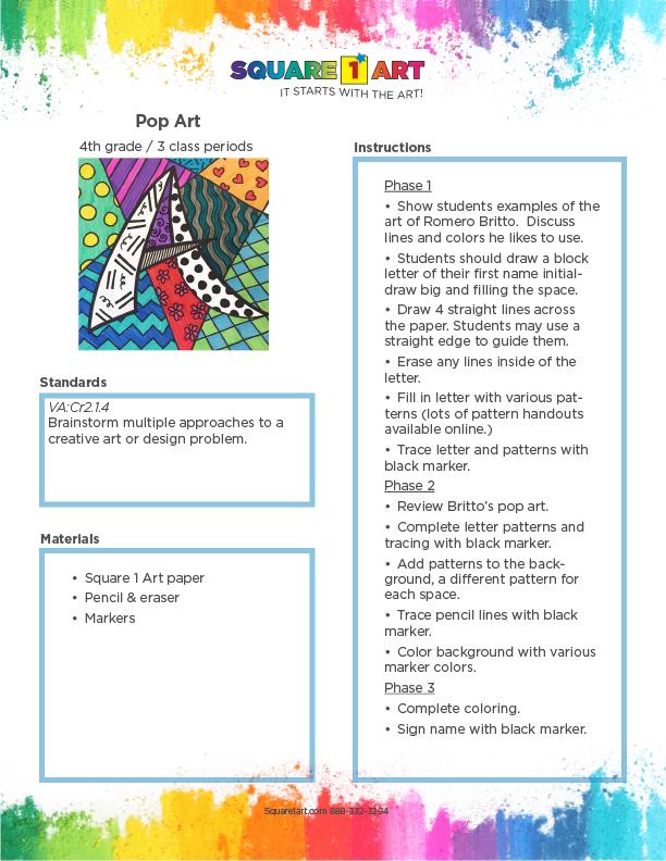 4th-5th - Pop Art - 3 classes-1